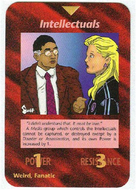 illuminati card illuminati intellectuals new world order trading card