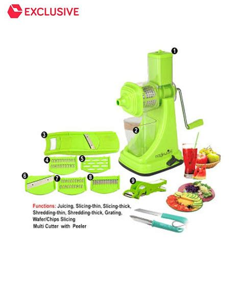 Magikware Super Kitchen Combo   Juicer, Slicer, Cutter