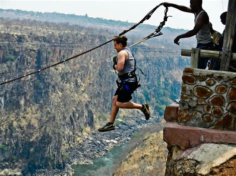 victoria falls swing 30 of the world s burliest bungee jumps pics matador