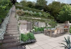 terrazzi pensili progettazione giardini creare angoli di paradiso