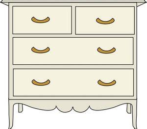 dresser clipart image drawing of a bedroom dresser or