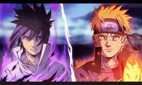 wallpaper keren naruto dan sasuke gambar foto naruto vs sasuke berubah keren gambar kata kata