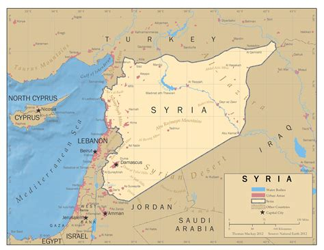 syria map beyond the media hype syria martinsidwell