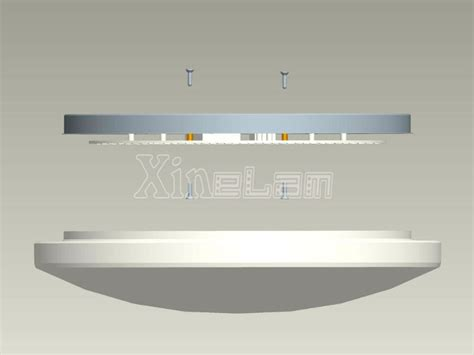 Diy Led Light Fixture Diy Led Ceiling Light Fixture Inside Led Panel Replace Of Circular Fluorescent View