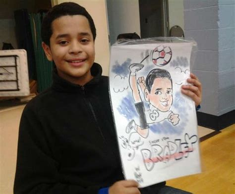 bill w caricature artists