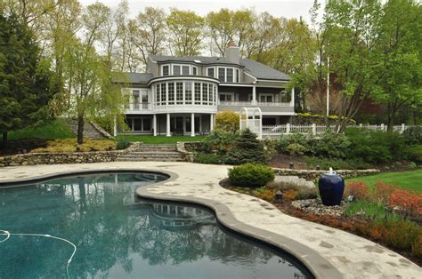 massachusetts real estate homes with pools gibson