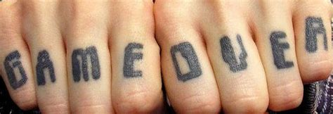 finger tattoo over time finger tattoo images designs