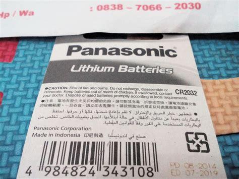 Baterai Cmos Cr2032 3v jual panasonic baterai cmos komputer cr2032 anti gores murah