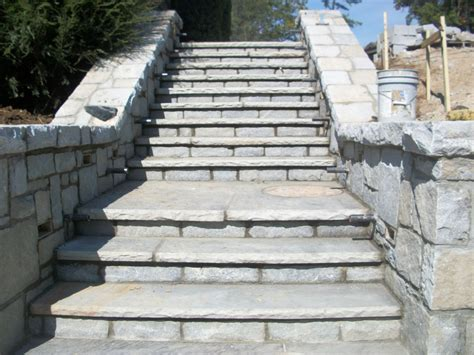 flagstone steps 3 thick tennessee flagstone steps with 6ft landing and