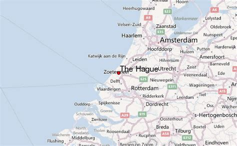 hague netherlands on map the hague location guide