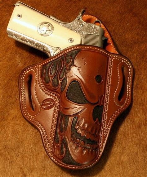 Handmade Leather Pistol Holsters - 25 unique custom leather holsters ideas on
