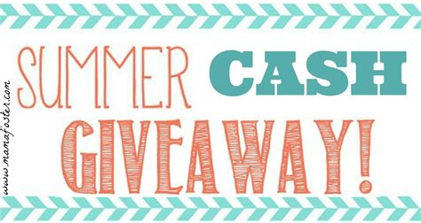Nine Cash Giveaway - closed summer cash giveaway open to us canada ends 6 30 literary winner