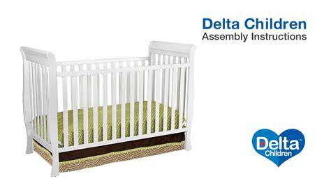 Delta Glenwood Crib by Delta Children Charleston Glenwood 3 In 1 Crib Assembly