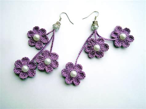 Pattern Crochet Earrings | 14 beautiful crochet earring patterns patterns hub