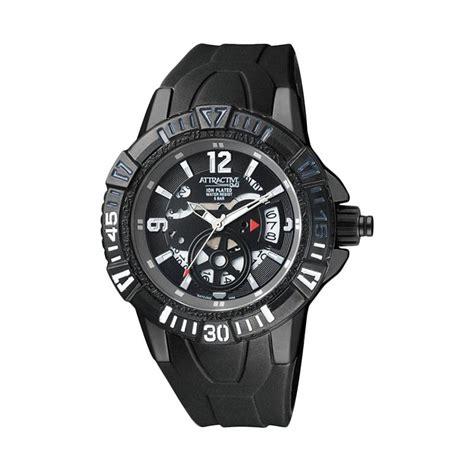 q q jam tangan pria hitam vq84 jual q q attractive jam tangan pria hitam da72j502y