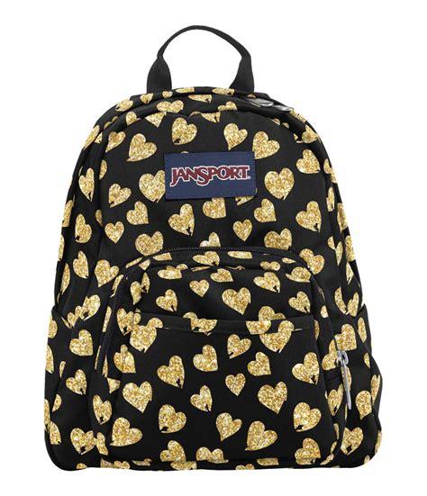 Jansport Mini Orange Murah jansport mini half pint backpack glitter hearts fantasyard costume jewelry accessories