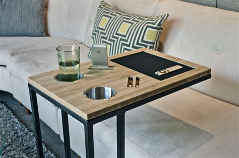 tables that fit under couch sliding sofa table live edge sliding sofa table by