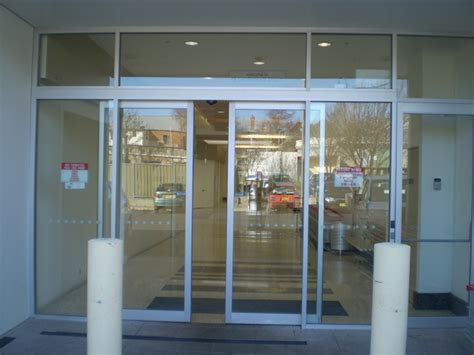 automatic sliding doors products g m glass australia