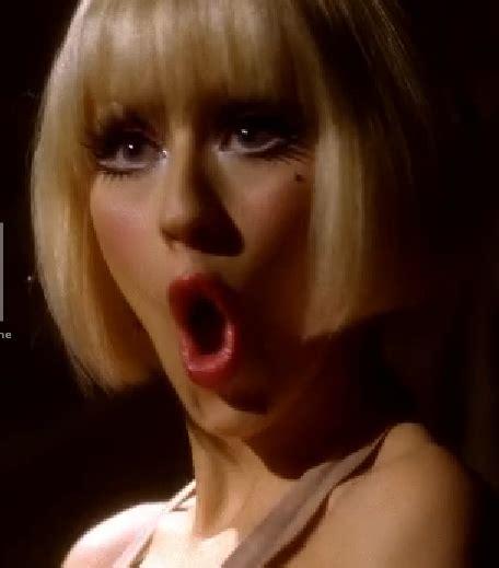 Aguilera On The Power Of Mascara by Heidi Montag Fashion Aguilera Burlesque Hair