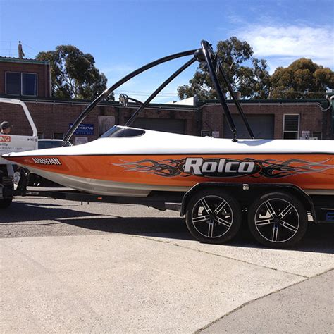 boat wraps canberra home capital signs