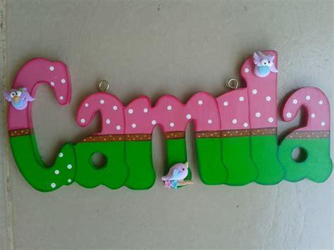 letras decoradas a letras decoradas nombres en mdf bs 2 500 00 en mercado