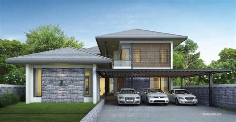 home design resort house แบบบ านสองช นสไตล ร สอร ท แบบบ าน 2 ช น 4 ห องนอน 5 ห องน ำ พ นท 420 ตร ม รห ส re h2