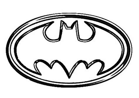 Batman Symbol Coloring Pages Symbol Of Batman Coloring Page Coloring Sun by Batman Symbol Coloring Pages