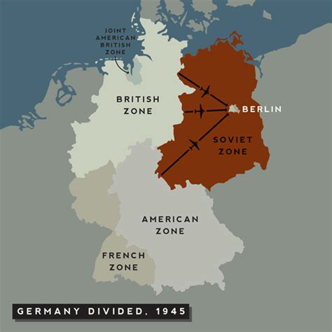germany divided map berlin blockade historycoldwarera