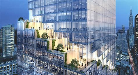 big tower tiny square the spiral office tower in new york by bjarke ingels group