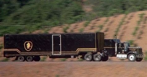 Tv Mobil Gmc f l a g mobile unit rider truck and trailer in