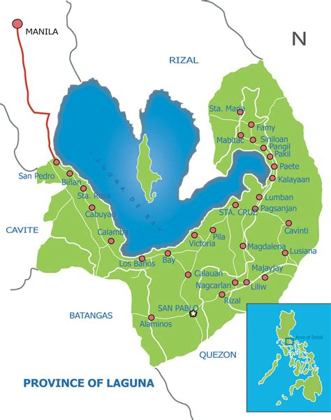 map of laguna laguna map by antworksdigital on deviantart
