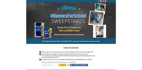Sweepstakes Unlimited - kleenexforschool sweepstakes win a 4 000 prize