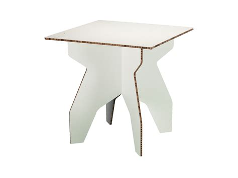 cardboard furniture templates cobb square table