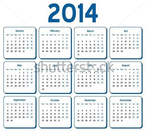 fiscal calendar 2014 | new calendar template site