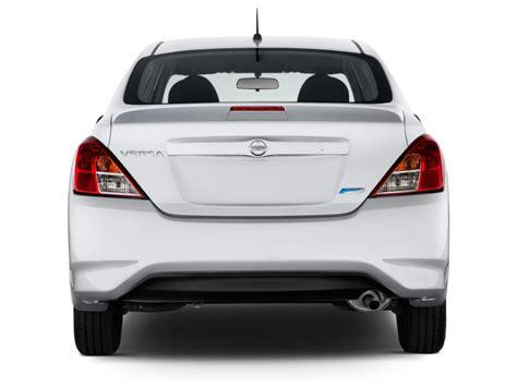 nissan versa 2017 exterior image 2017 nissan versa sedan sv cvt rear exterior view