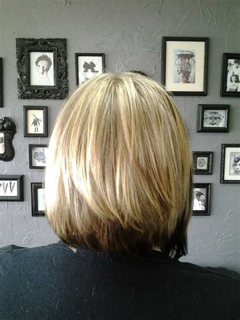 how to layer the back of a bob 25 best layered bob pictures bob hairstyles 2017 short