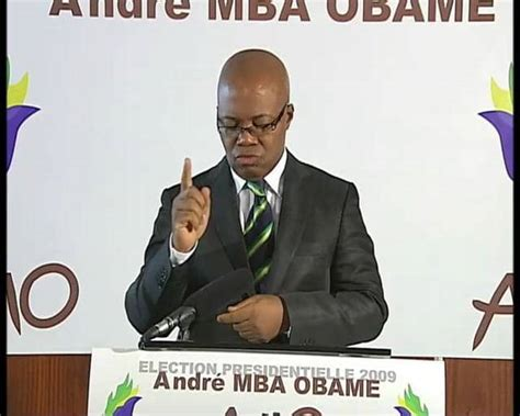 Andre Mba Obame Site Officiel by Appel De Barcelone Andr 233 Mba Obame On Vimeo
