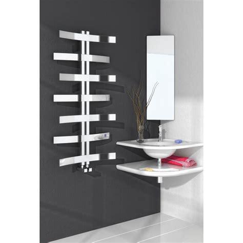modern bathroom radiators lioni modern polished stainless steel towel radiator