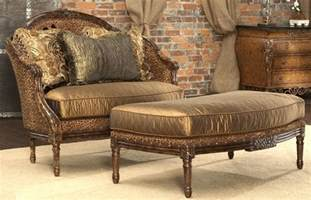 decorative home furnishings leopard print settee luxury home furnishings and