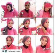 Cara Memakai Jilbab Pashmina Pesta Elegan  Remaja Update