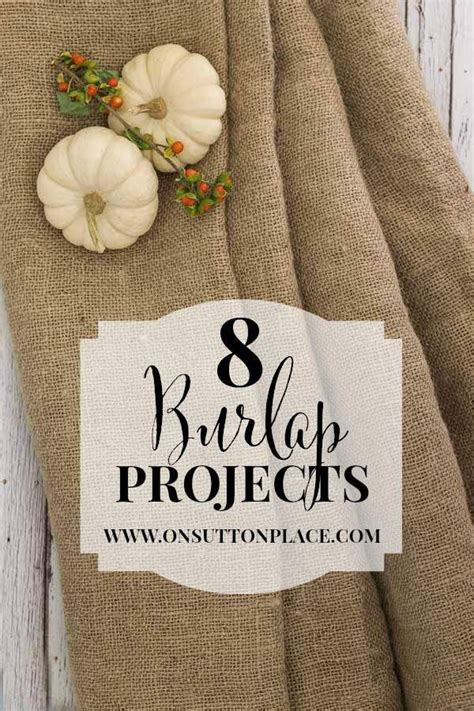 burlap craft projects 1373 best burlap images on hessian fabric