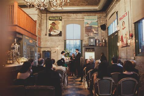 Phenomenal Balzac's Coffee Wedding in Toronto   Toronto