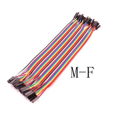 To Dupont Cable Dupont Wire Jumper Cable For Arduino 40pcs dupont cable jumper wire dupont line to fmale dupont line 20cm 1p 1p in electronics