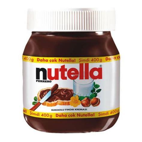 Nutella 400 Gr 2x200 Gr nutella 400 gr marketpaketi