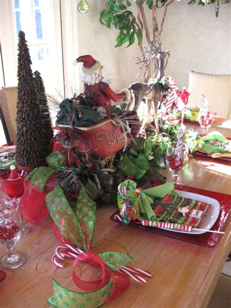 alcove santa with reindeer house tablescapes southern hospitality