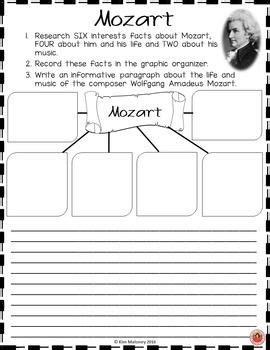 mozart biography for middle school students 52 best mozart images on pinterest composers music ed