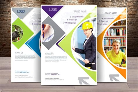 free business flyers design templates corporate flyer template 7