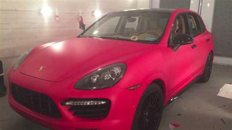 porsche cayenne matte red porsche cayenne gts f1 racing matte red carbon fiber