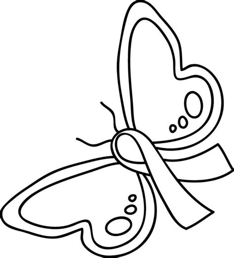 coloring pages for ribbon week 8 best cancer images on cancer ribbons