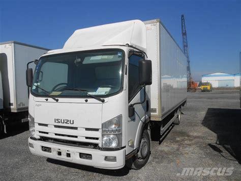 isuzu box truck used isuzu npr75 box trucks year 2008 for sale mascus usa